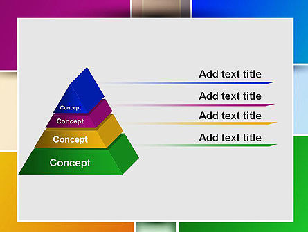 Colored Rectangles PowerPoint Template Slide 12