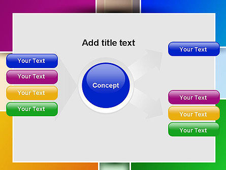 Colored Rectangles PowerPoint Template Slide 14