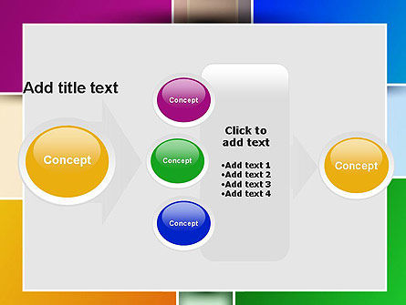 Colored Rectangles PowerPoint Template Slide 17