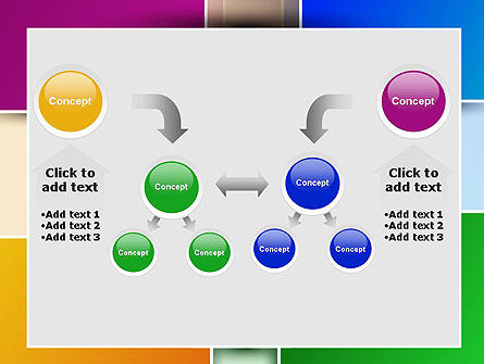 Colored Rectangles PowerPoint Template Slide 19