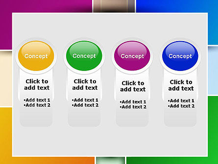 Colored Rectangles PowerPoint Template Slide 5