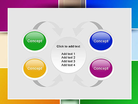 Colored Rectangles PowerPoint Template Slide 6