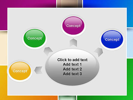 Colored Rectangles PowerPoint Template Slide 7
