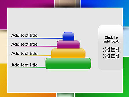 Colored Rectangles PowerPoint Template Slide 8