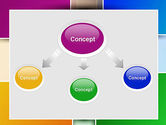 Colored Rectangles PowerPoint Template#4