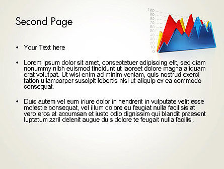 Area Chart PowerPoint Template Slide 2