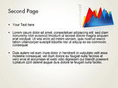 Area Chart PowerPoint Template#2