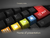 Holiday/Special Occasion: Cyber Monday PowerPoint Template #12101