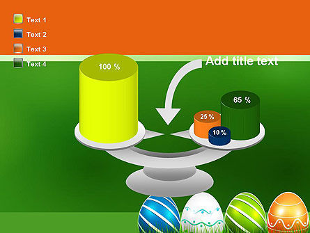 Painted Eggs PowerPoint Template Slide 10