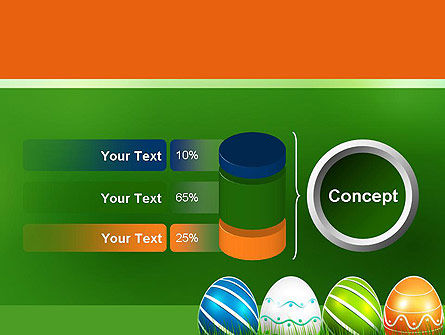 Painted Eggs PowerPoint Template Slide 11