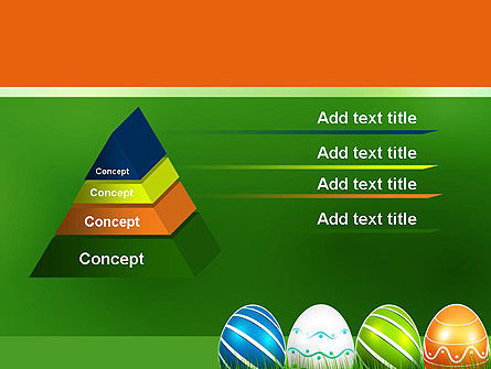 Painted Eggs PowerPoint Template Slide 12