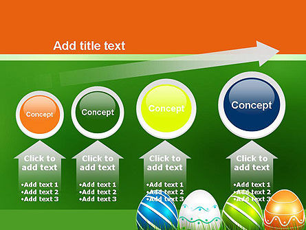 Painted Eggs PowerPoint Template Slide 13