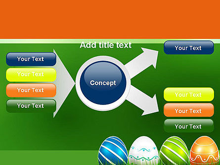 Painted Eggs PowerPoint Template Slide 14