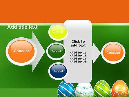 Painted Eggs PowerPoint Template Slide 17