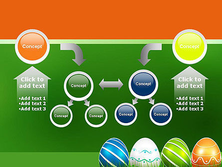 Painted Eggs PowerPoint Template Slide 19