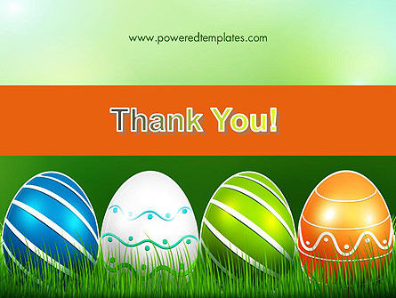 Painted Eggs PowerPoint Template Slide 20