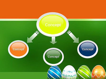 Painted Eggs PowerPoint Template, Slide 4, 12103, Holiday/Special Occasion — PoweredTemplate.com
