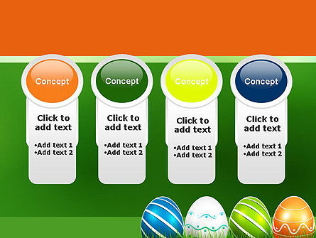 Painted Eggs PowerPoint Template Slide 5