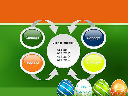 Painted Eggs PowerPoint Template Slide 6