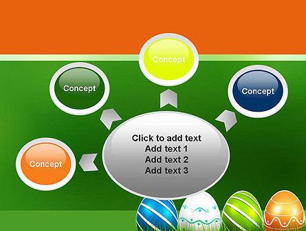 Painted Eggs PowerPoint Template Slide 7