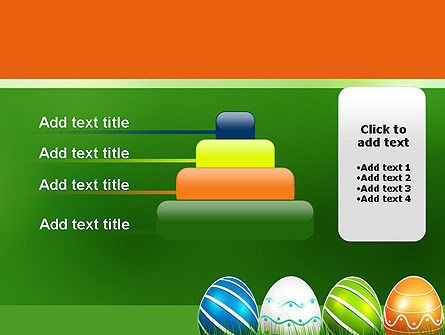 Painted Eggs PowerPoint Template Slide 8