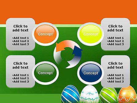 Painted Eggs PowerPoint Template Slide 9
