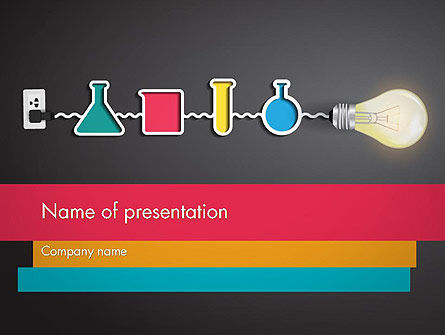 Hands-on Science PowerPoint Template, 12105, Education & Training — PoweredTemplate.com
