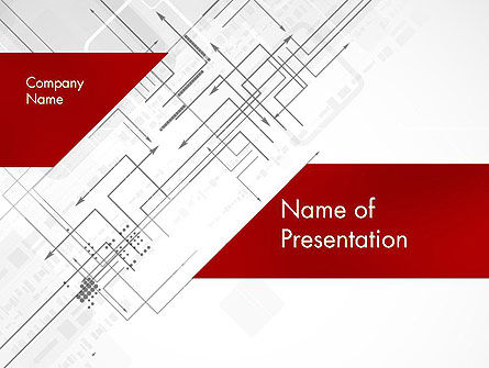 Multi-Directional Arrows PowerPoint Template, 12106, Business Concepts — PoweredTemplate.com