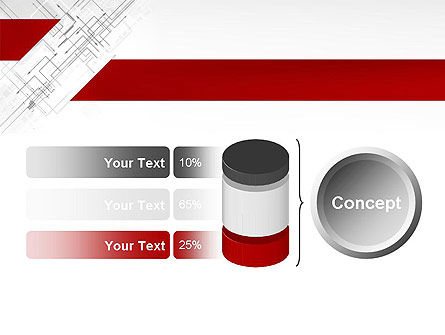 Multi-Directional Arrows PowerPoint Template Slide 11