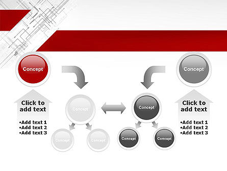 Multi-Directional Arrows PowerPoint Template Slide 19