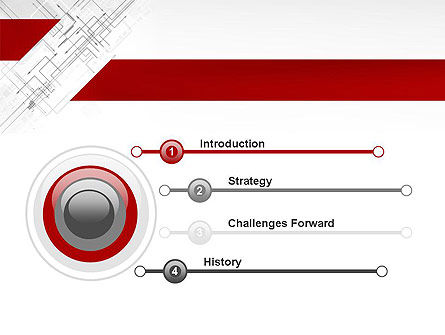 Multi-Directional Arrows PowerPoint Template Slide 3