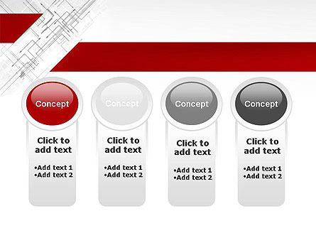 Multi-Directional Arrows PowerPoint Template Slide 5