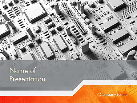 3D: Technology Solutions PowerPoint Template #12108