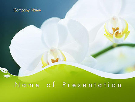 Nature & Environment: Breath of Spring PowerPoint Template #12109
