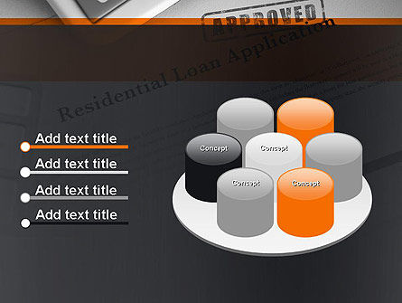 Loan Application Theme PowerPoint Template Slide 12