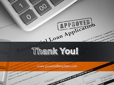 Loan Application Theme PowerPoint Template Slide 20
