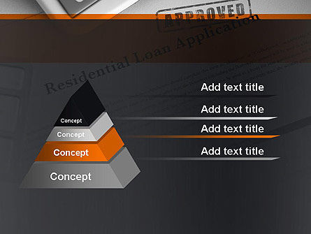 Loan Application Theme PowerPoint Template, Slide 4, 12113, Financial/Accounting — PoweredTemplate.com