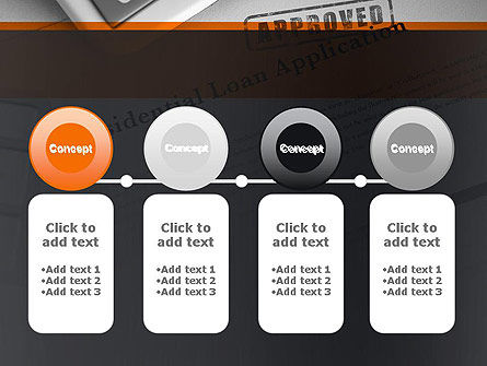 Loan Application Theme PowerPoint Template Slide 5