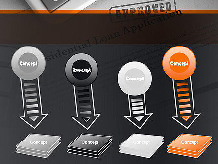 Loan Application Theme PowerPoint Template Slide 8