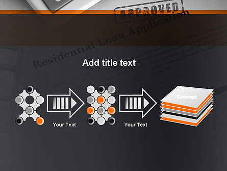 Loan Application Theme PowerPoint Template Slide 9