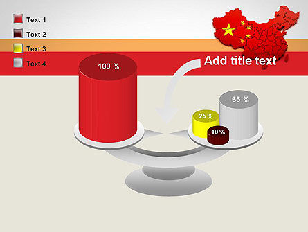 Map of China PowerPoint Template Slide 10