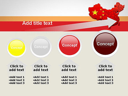 Map of China PowerPoint Template Slide 13