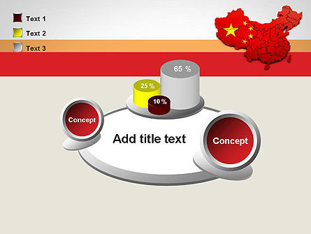Map of China PowerPoint Template Slide 16