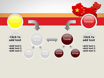 Map of China PowerPoint Template Slide 19