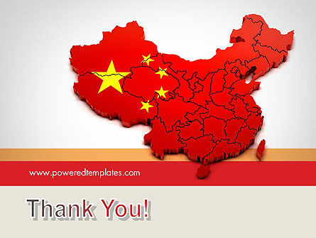 Map of China PowerPoint Template Slide 20