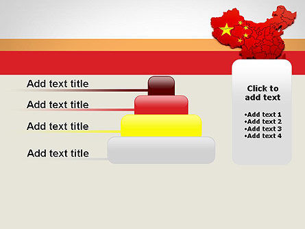 Map of China PowerPoint Template Slide 8