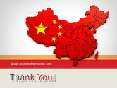 Map of China PowerPoint Template#20