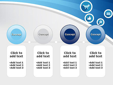E-commerce Icons PowerPoint Template Slide 5