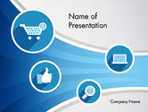 Careers/Industry: E-commerce-ikonen PowerPoint Vorlage #12115