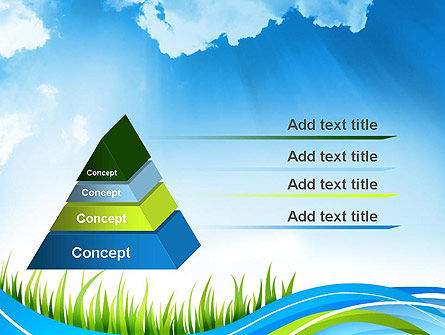 Clean Nature PowerPoint Template, Slide 4, 12117, Nature & Environment — PoweredTemplate.com